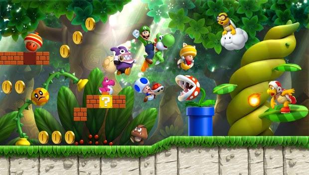 Wii U: confira os games disponíveis no lançamento do console no Brasil New-super-luigi-u