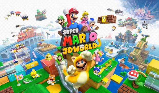 Wii U: confira os games disponíveis no lançamento do console no Brasil Super-mario-3d-world
