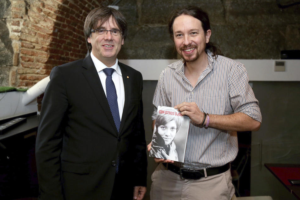¿Cuánto mide Carles Puigdemont? - Estatura - Real height Iglesias-puigdemont