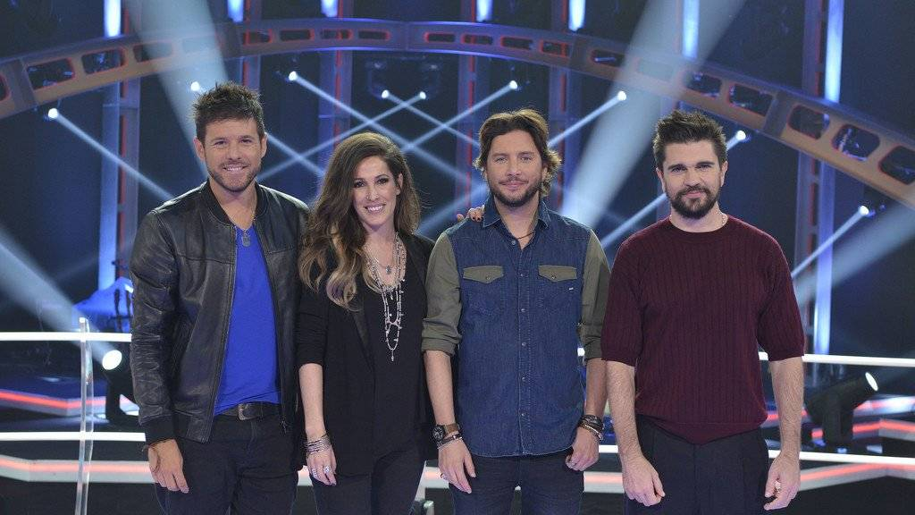 ¿Cuánto mide Juanes? - Altura - Real height La-voz5-coaches_1
