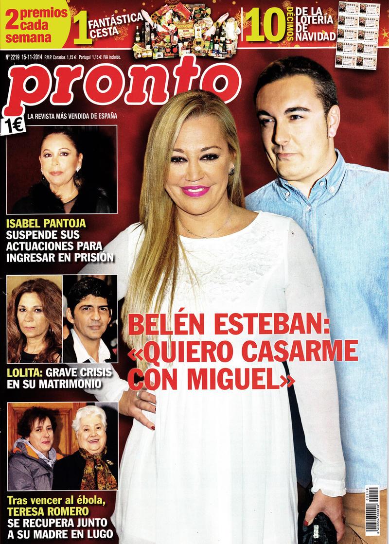 Belen Esteban...... - Página 7 Pronto-10112014