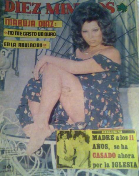 ¡¡¡ EL BAUL DE LOS RECUERDOS !!! 6.MARUJITADIAZ.PORTADADIEZMINUTOS.1975