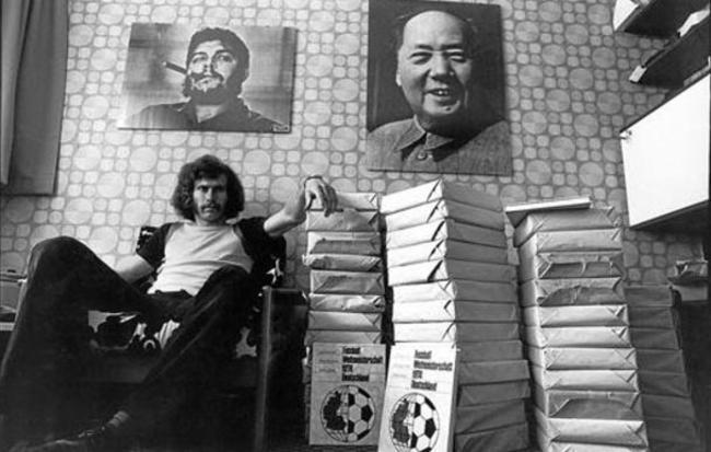 Paul Breitner: el futbolista maoísta Breitner-comunista
