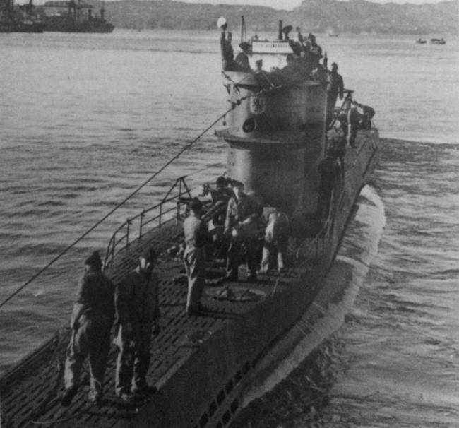 [Historia] Hallan en la costa de Carolina del Norte un submarino nazi hundido en 1942 Submarino-u576-noaa