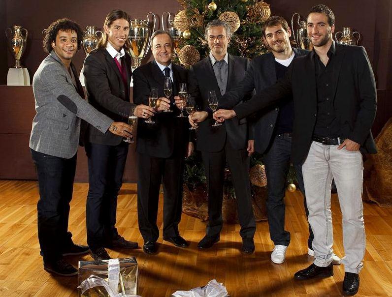 ¿Cuánto mide José Mourinho? - Altura - Real height Florentino-navidad-241211