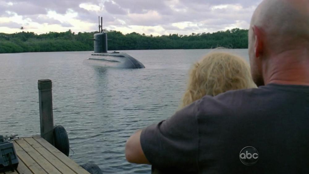 Lost, sobre todo un enorme guión Submarino