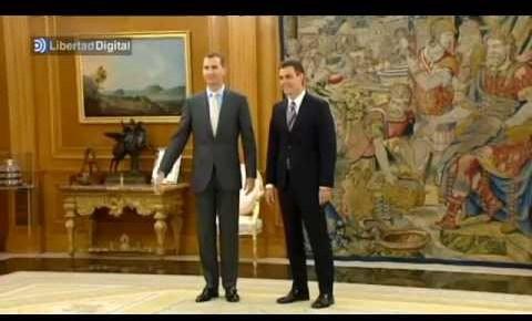 ¿Cuánto mide Pedro Sánchez? - Altura: 1,89 - Real height Pedro-sanchez-habla-con-felipe-vi-de-su-agenda-intensa-6045981
