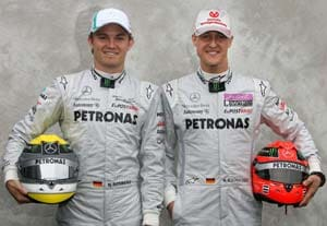 ¿Cuánto mide Nico Rosberg? - Real height Schumacher-rosberg300