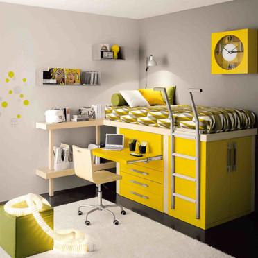 Une chambre qui grandit avec l'enfant Chambre-d-enfant-jaune-roche-bobois-4202416fkxnj_1350