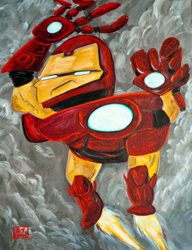 Супергерои в стиле Пикассо 51bfc4d92d