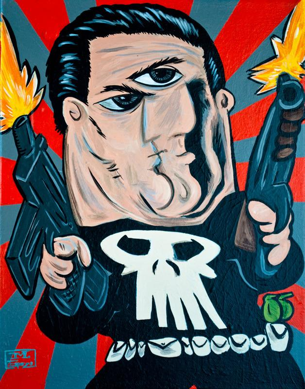 Супергерои в стиле Пикассо 7089674e77