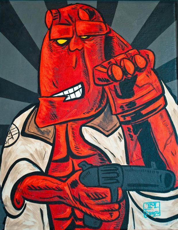 Супергерои в стиле Пикассо 9440285a18