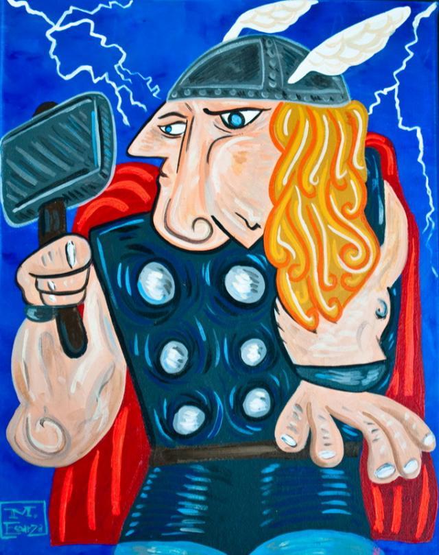 Супергерои в стиле Пикассо Bea4083a25