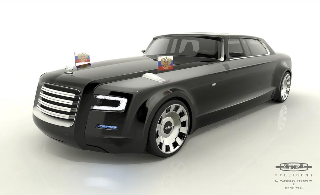 """""""Soviet-Limos"""" et """"Poutine-mobile"""" Projet-voiture-pr-sident-russie-vladimir-poutine-2013-08-10954925mmwhz"""