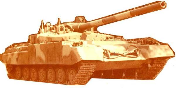 «Объект 490А» - опытный основной боевой танк (НИР «Бунтарь») 0XfHN