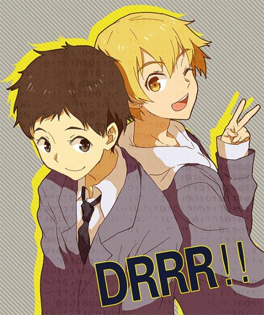 Арт по аниме «Дюрара!» (Durarara!!) Dc5b82fa2e31
