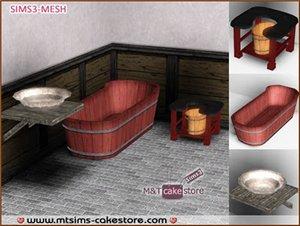 Ванные комнаты (деревенский стиль) 5f610c583032