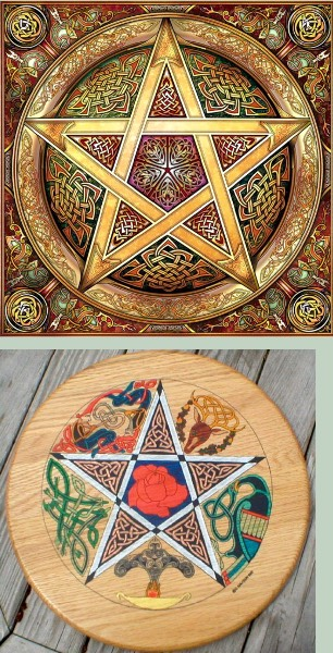 Кельтские лже символы: пентаграмма 0f03dc8529ce