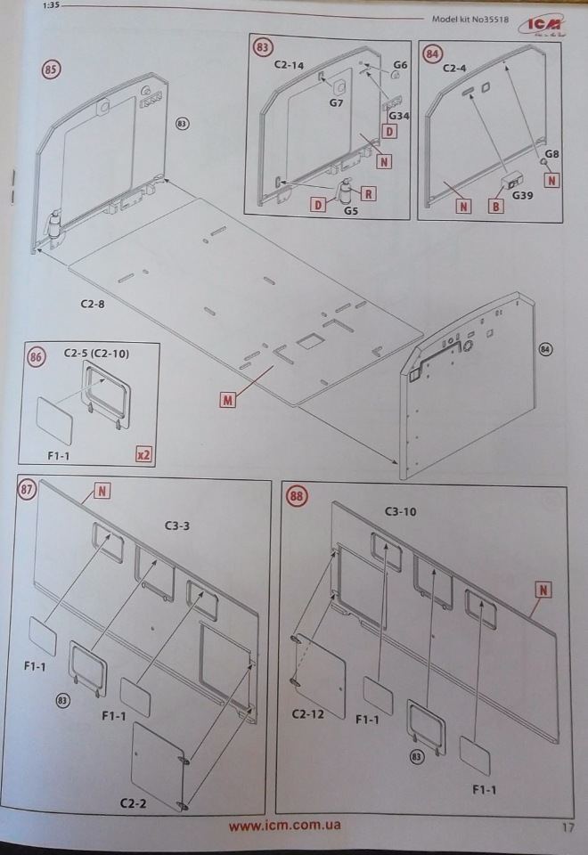Обзор ЗиЛ-131 Аварийная служба / КУНГ, 1/35 (ICM 35518).  E6c0cb36ffb0