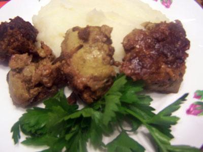 Жареная куриная печень. Экспресс-рецепт Bbb57b8c7e3c