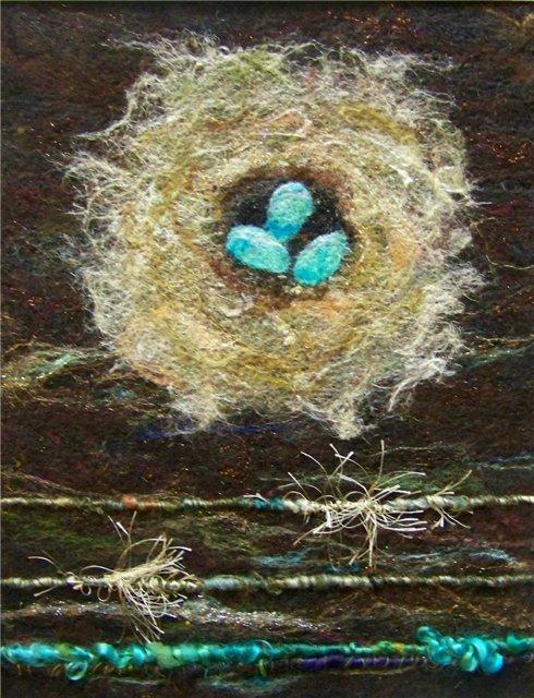 Deebs Fiber Arts создаёт чудесные картины из войлока. 33a834070424