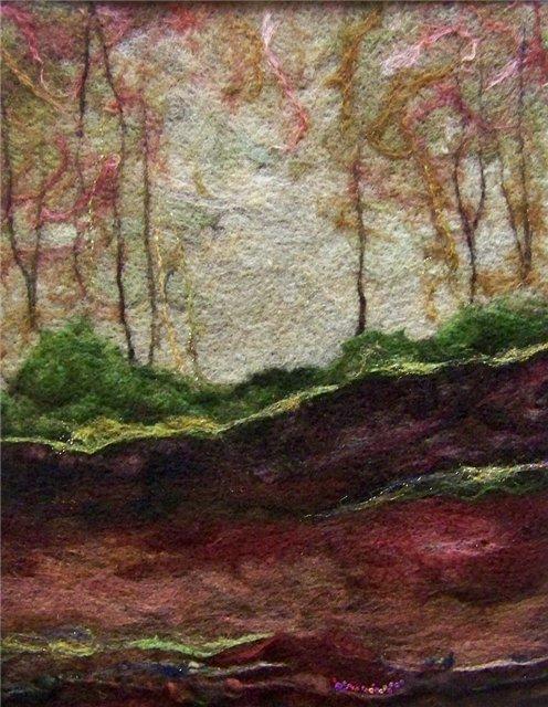Deebs Fiber Arts создаёт чудесные картины из войлока. 3240dc58b3a7