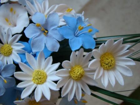 Цветы ручной работы из полимерной глины 826a8a459ac7