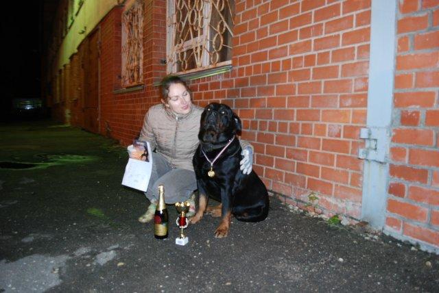 Ночные испытания собак в Латвии A2781eefdda4
