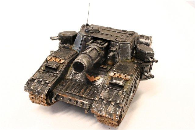 Танк по мотивам Warhammer - [готово] 61c9b18d29d9