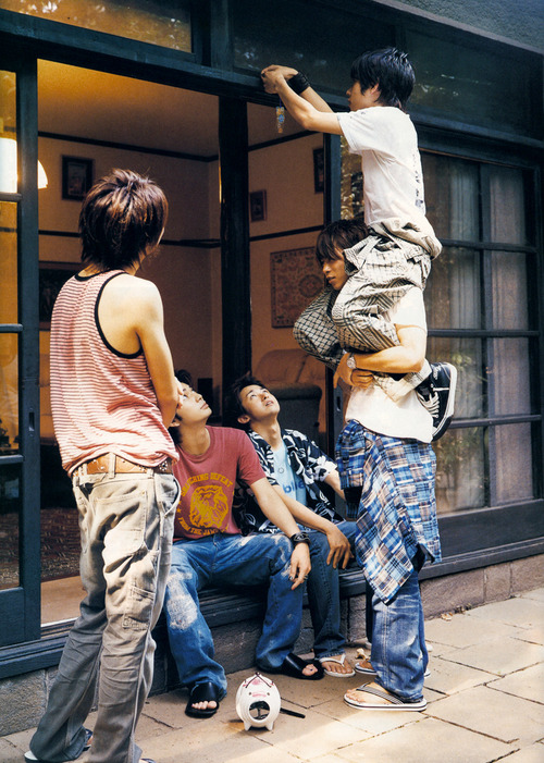 ARASHI. Радужные мальчики - 3 - Страница 4 267df1a50d36
