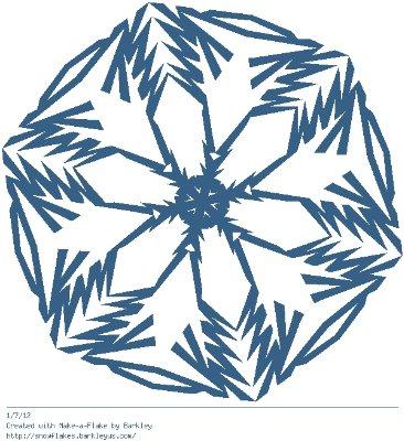 Зимнее рукоделие - вырезаем снежинки! - Страница 10 9b2d34521c1c
