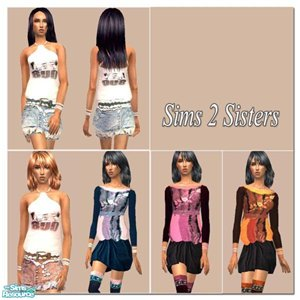 Повседневная одежда (платья, туники, комплекты с юбками) - Страница 3 534ab28da2ae