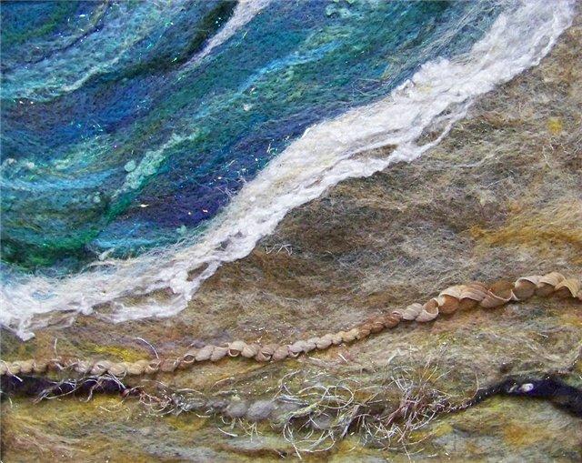 Deebs Fiber Arts создаёт чудесные картины из войлока. 96fa02c913b9