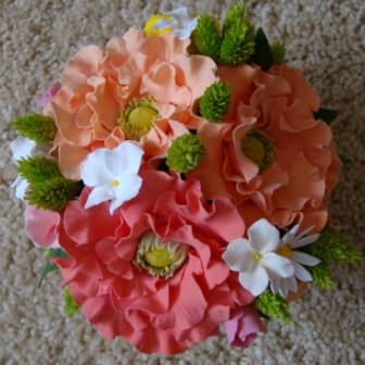 Цветы ручной работы из полимерной глины 0395a925b405
