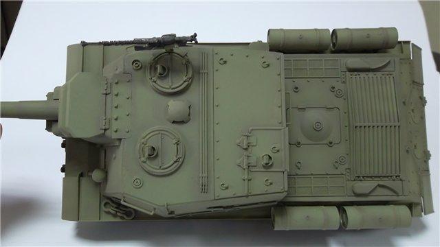 """ИСУ-152 """"Зверобой"""", 1/35, (Звезда 3532) перекраска старой модели. 5a534b7f54cb"""