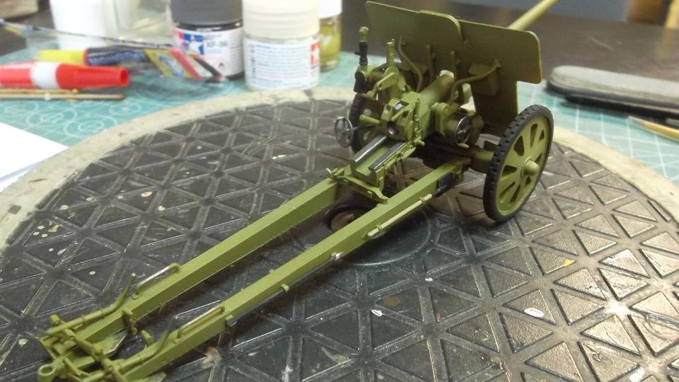 76-мм Дивизионная пушка Ф-22 обр.1936г., 1/35, (ICM 35702). A0f175023073