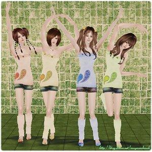 Повседневная одежда (платья, туники, комплекты с юбками) - Страница 3 Dbedf11f1a2a