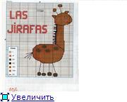 Жирафики - вышивка 51a71a2fa512t