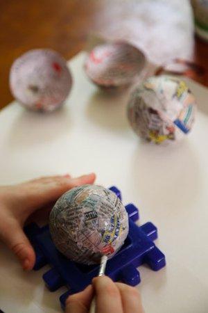 Как сделать основу для новогоднего шарика 0b4294f7c0ab