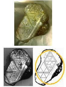 Числа магического шестиугольника. 6417f25618b8