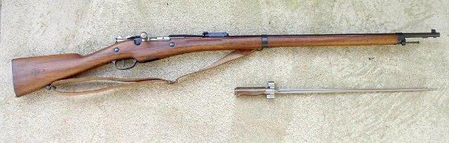 Патрон 8x50 R / 8 mm Lebel (ММГ) E801663f6114