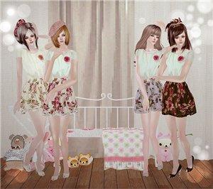 Повседневная одежда (платья, туники, комплекты с юбками) - Страница 3 55125460ba60