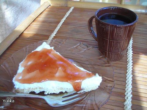 Тарталетки (тарт) с кримчизом и клубникой 25ba6fb8951b