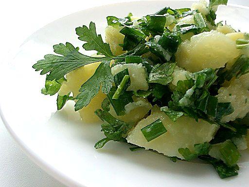 Картофельный салат с зеленью 45f8480e2cd8