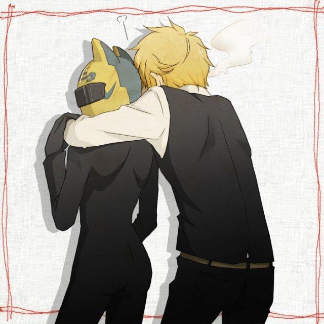 Арт по аниме «Дюрара!» (Durarara!!) 63b936c4199d