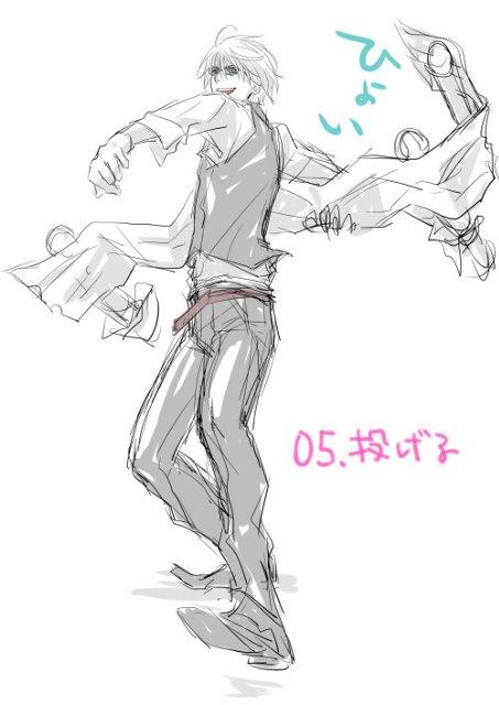 Арт по аниме «Дюрара!» (Durarara!!) 77e65b6255a3