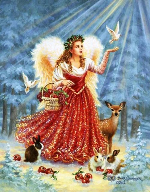 Рождественские ангелы от Dona Gelsinger Bc36044d9f06