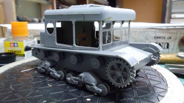 Тягач Т-26 / трофейный польский С7Р, 1/35, (Mirage hobby 35903). Ded6aacc2011