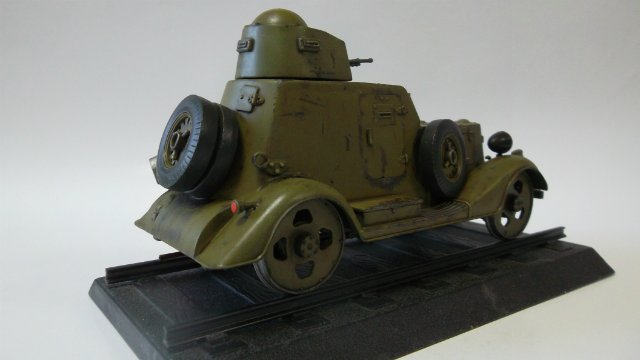 Бронеавтомобиль БА-20 Ж/Д, 1/35, (Старт). A57d889f3109
