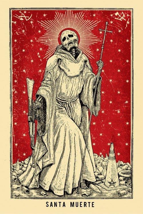 Santa Muerte. Святая Смерть 57f7d998a5e5